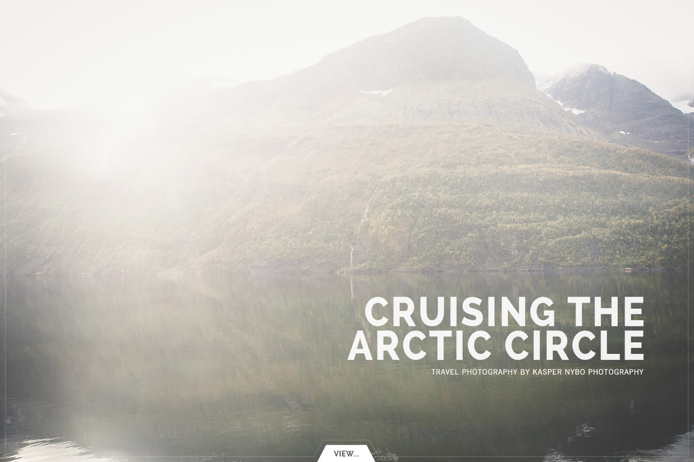 Exploring the arctic cirlce inan old VW Camper!#places