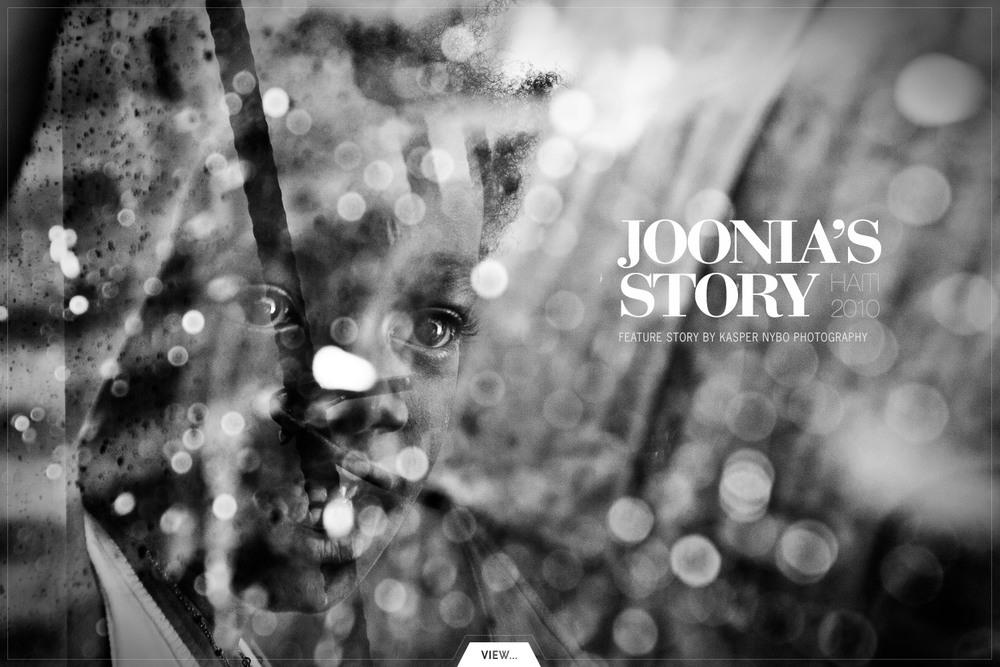 Orphaned by the quake - this isJoonia's Story, Port-au-Prince, Haiti.#survivors