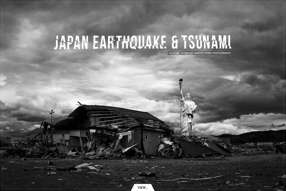 Photo feature from the city of Ishinomaki in the aftermath of the tsunami 2011.#survivors