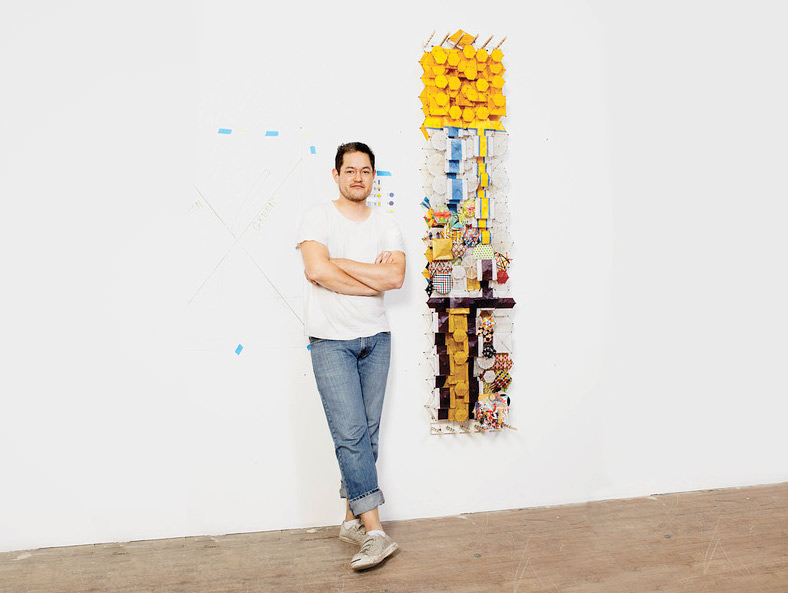 Artist Jacob Hashimoto Unveils a Kite Installation    WSJ  |  SEPTEMBER 11, 2014