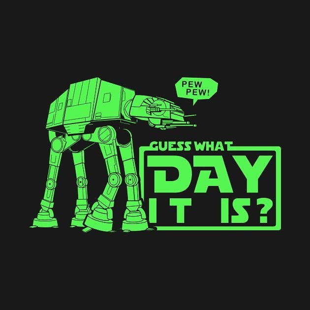 May the 4th be with you. #starwarsgeek