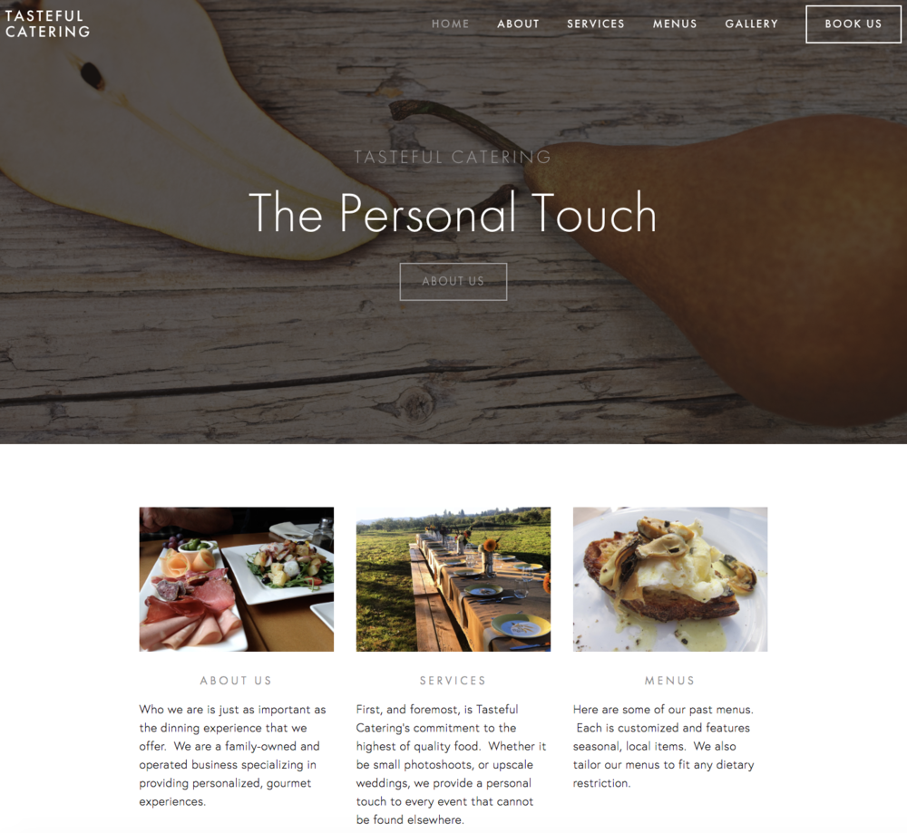 Fully-functional website developed by Cada Casa.