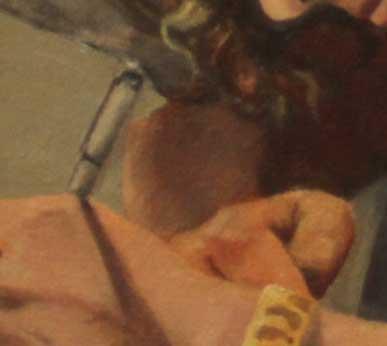 Genevieve, detail