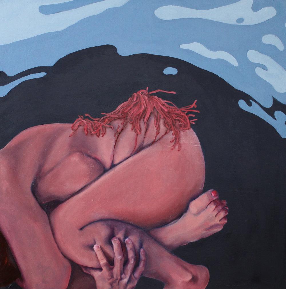 """Exhibit 7, 20""""x20,"""" oil on canvas"""