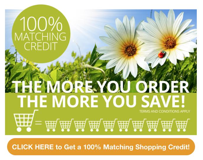 100% Matching Credit