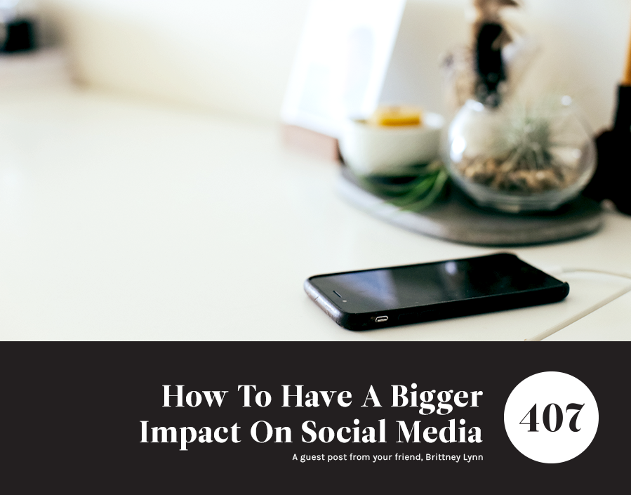Can Electronic Media Impact Your >> How To Have A Bigger Impact On Social Media And Spend Less