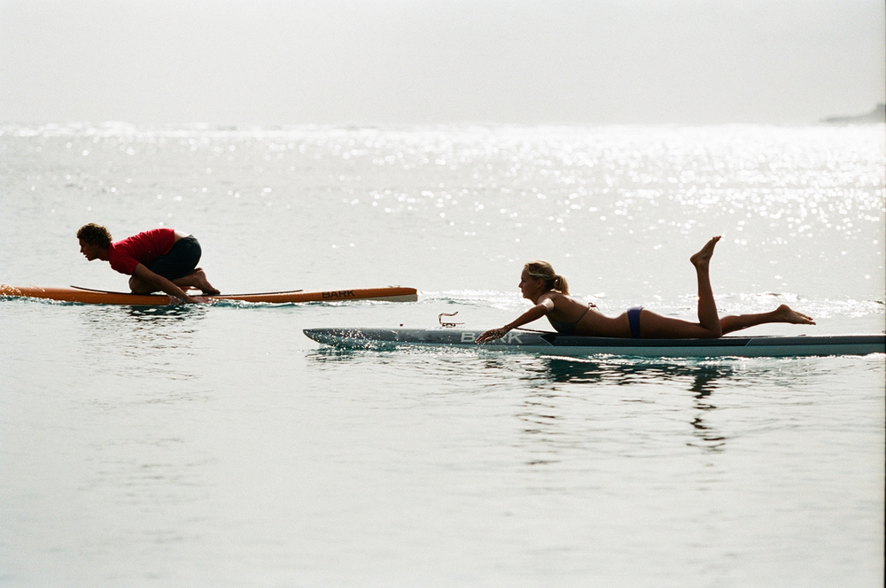 Mikey and Rachel Cote afternoon paddle