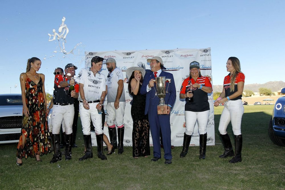 Barrett Jackson's Aspen Valley Polo Club celebrate historical Three-Peat.