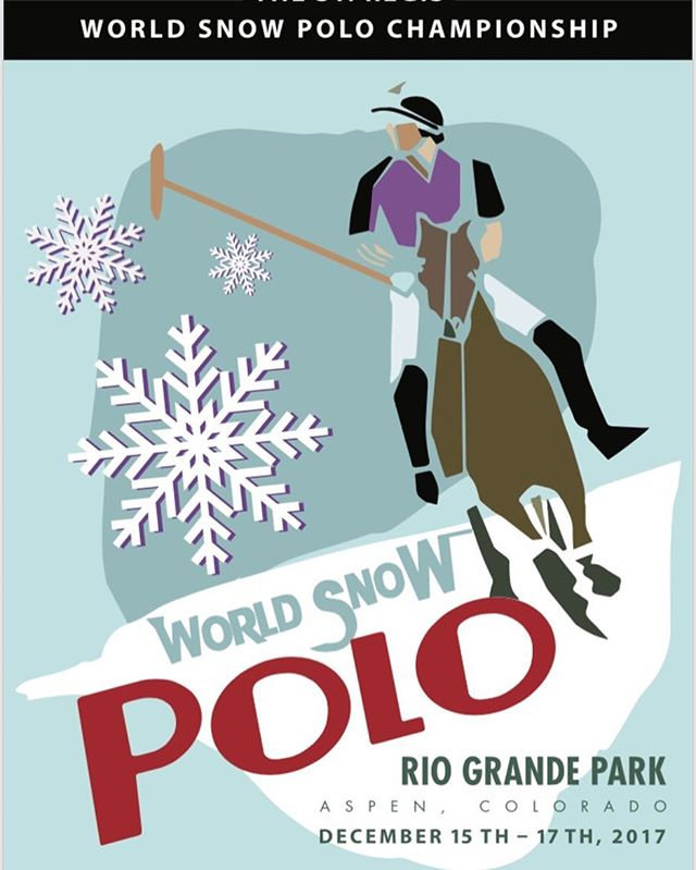 #snowpolo17 is just around the corner! Buy your tickets now at aspenvalleypoloclub.com so you don't miss out on the action #aspen #worldsnowpolo #liveexquisitely
