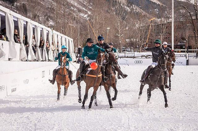 One week until we're back in the snow. Come watch the action in #aspen or live on ChukkerTV.com #snowpolo17 #worldsnowpolo #stregisaspen #liveexquisitely