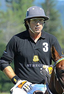 Nacho Figueras 6 Goal Argentina  Nacho Figueras, the captain of the St. Regis team, is a 6-goal player and is hosting the World Snow Polo Championships in Aspen with Marc and Melissa Ganzi. Figueras began playing polo at the age of 9, turning pro at 17. Named Sentebale Ambassador by the recently-engaged Prince Harry and face of the Ralph Lauren Polo brand, Figueras uses his celebrity status to work tirelessly to expose the sport to the masses. The father of four is on the road seven months a year playing and generating a greater awareness of the sport around the world. Figueras, who has appeared on the popular Ellen DeGeneres Show in October and December, has a vision where horses and polo will be a part of mainstream entertainment, fashion, television, movies and equestrian theme parks.