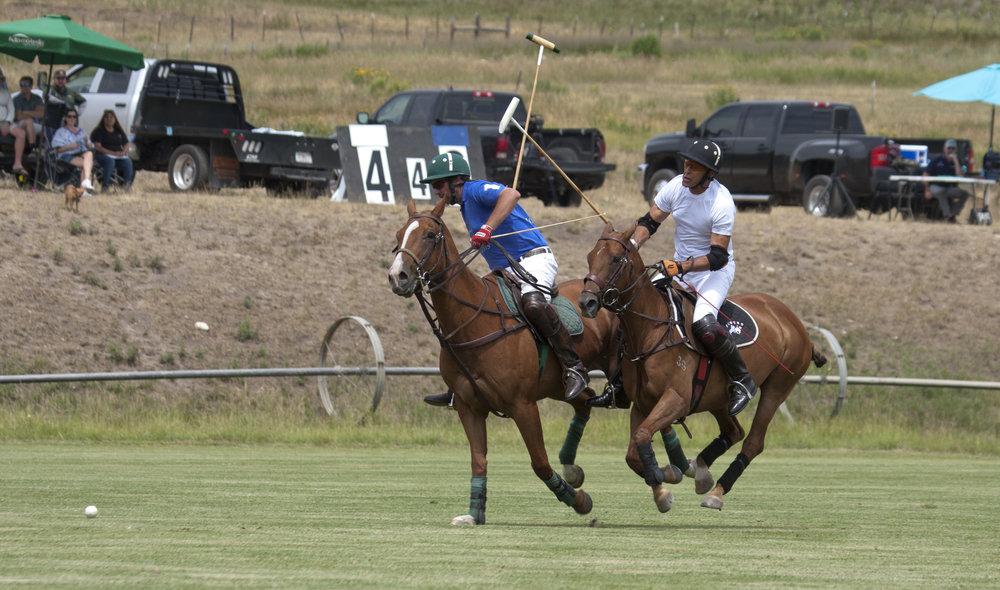 Tom Barrack of Piocho Ranch hooks Alex Gooding.JPG