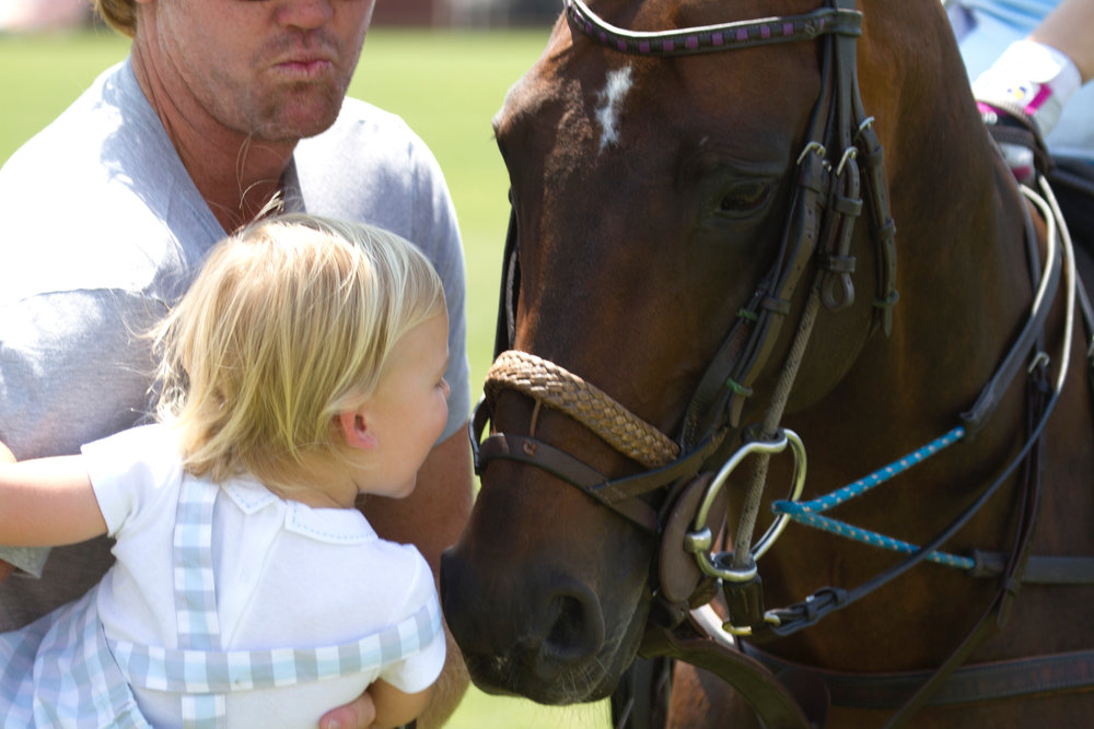 Horse kisses were free to all through.JPG