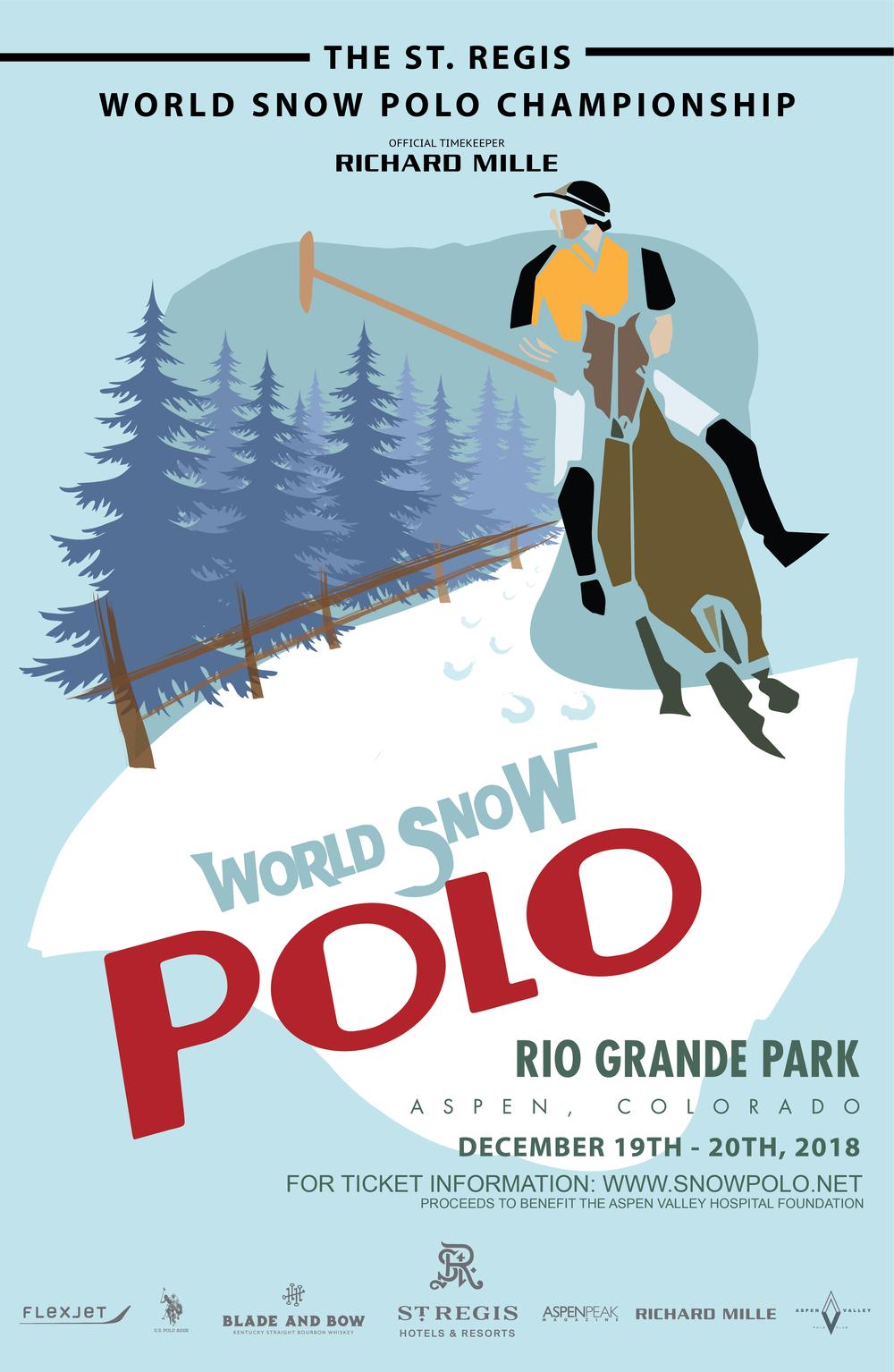 Snow Polo Poster