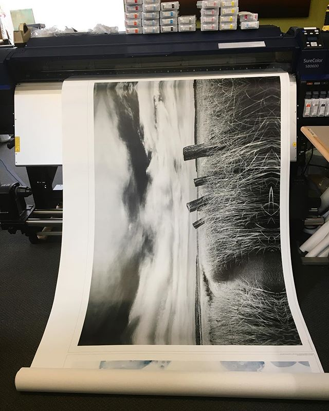 When you walk by a printer and see one of your images being printed on canvas as a 60x40! ---------------------------------------- #boston #massachusetts #northeast #newengland #capecod #canon_photos #canon #canonphotography #canon_official #canonphotography #canon5dmarkii #canonusa #nofilter #landscape #landscapephotography #landscapelovers #teamcanon #ig_shotz #epiccaptures #fineartphotography #beach #sunset #sunrise #wideangle