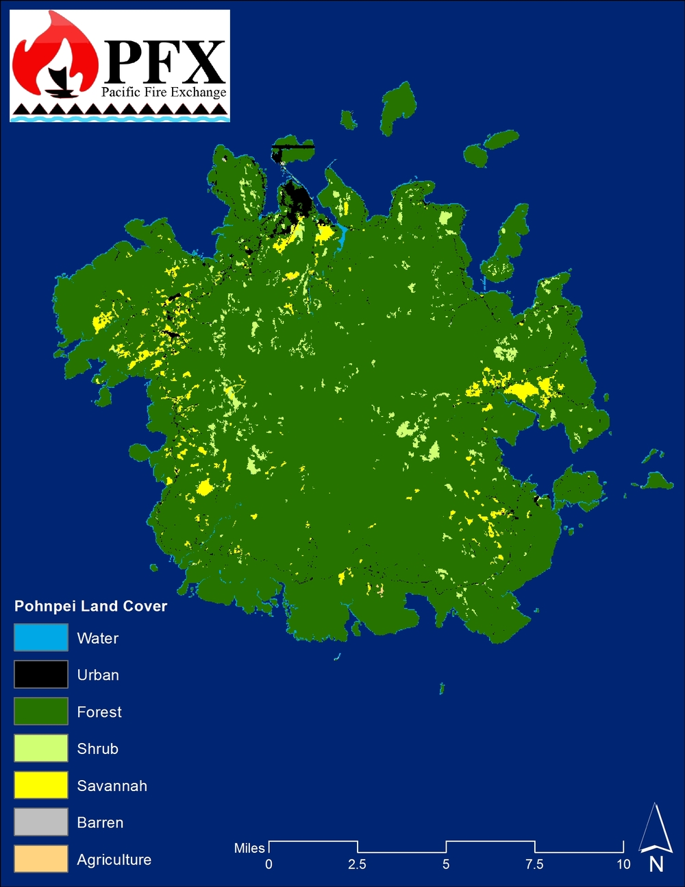 Pohnpei Land Cover