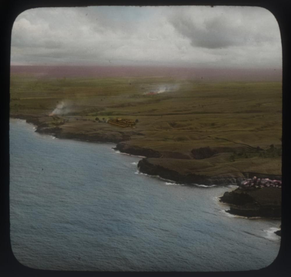 Hamakua Coast Circa 1940. Image Source: hawaii latern Slides (http://digicoll.manoa.hawaii.edu/hawaiilanternslides/index.php)