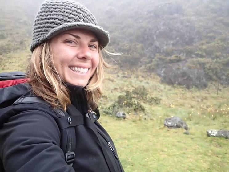 Chelsea Arnott in the field. Source: Chelsea Arnott.