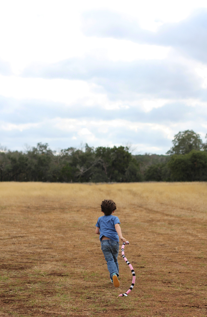 Put a kid in an open field and it's guaranteed they'll run. Run, run, run.