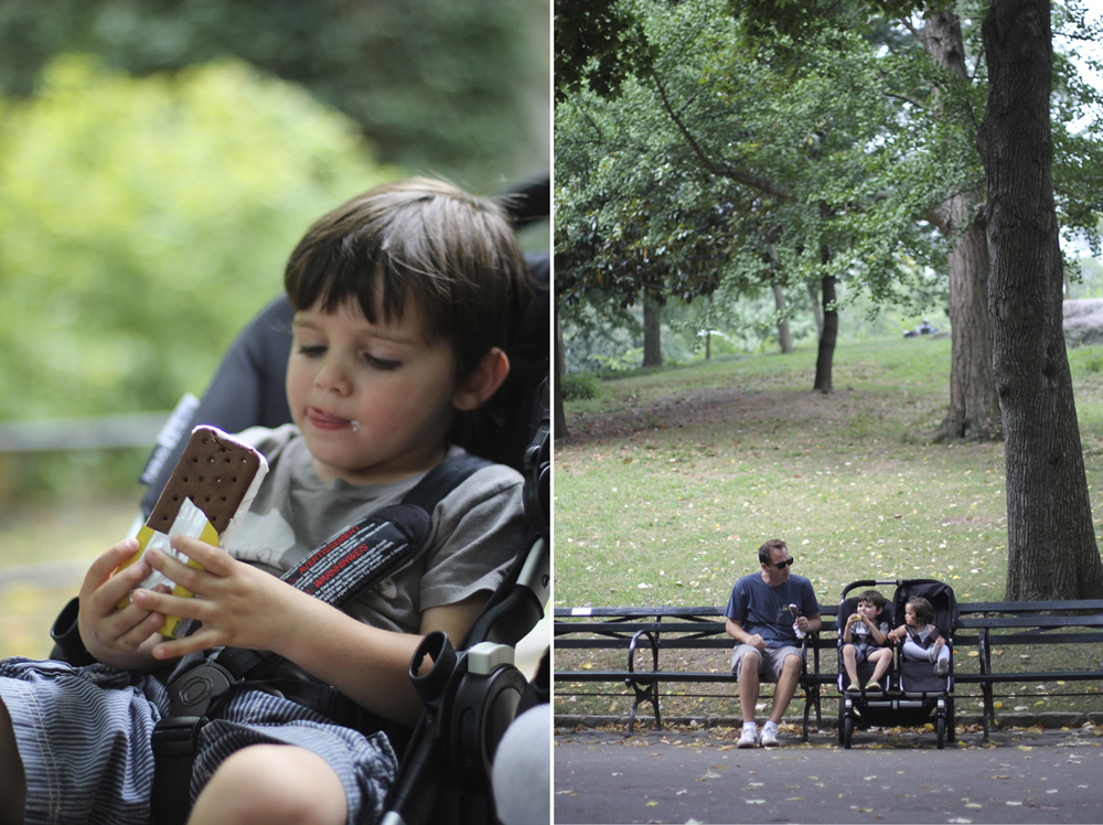 We finished off the adventure with an ice cream through Central Park.