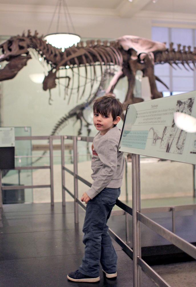 This is Everett explaining to me why T-Rex is his favorite.