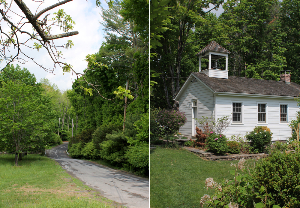 We stayed in the most charming renovated one-room schoolhouse, and it was our home base for exploring the surrounding waterfalls, mountains, and wide open fields.