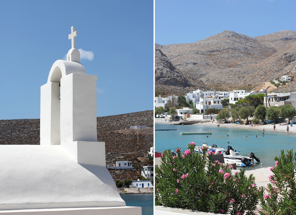 Even though it's 6 hours by boat, we still got to Folegandros with plenty of time to enjoy the entire day. Probably the most charming and picturesque island we've ever been to. Do I say that every year, after every island I visit? Maybe. But this time it's true.