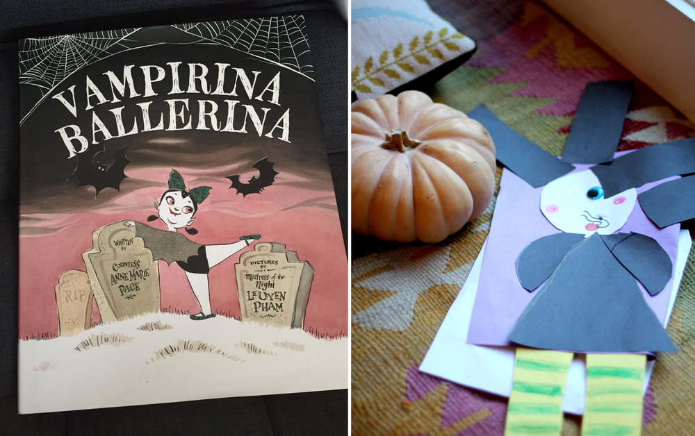 All the accoutrements of Halloween have a been a big hit, from pumpkins to the books to the art projects.