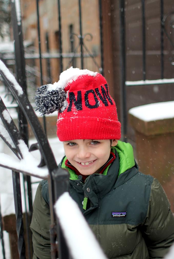 But we got plenty of snow in Brooklyn one weekend,too.