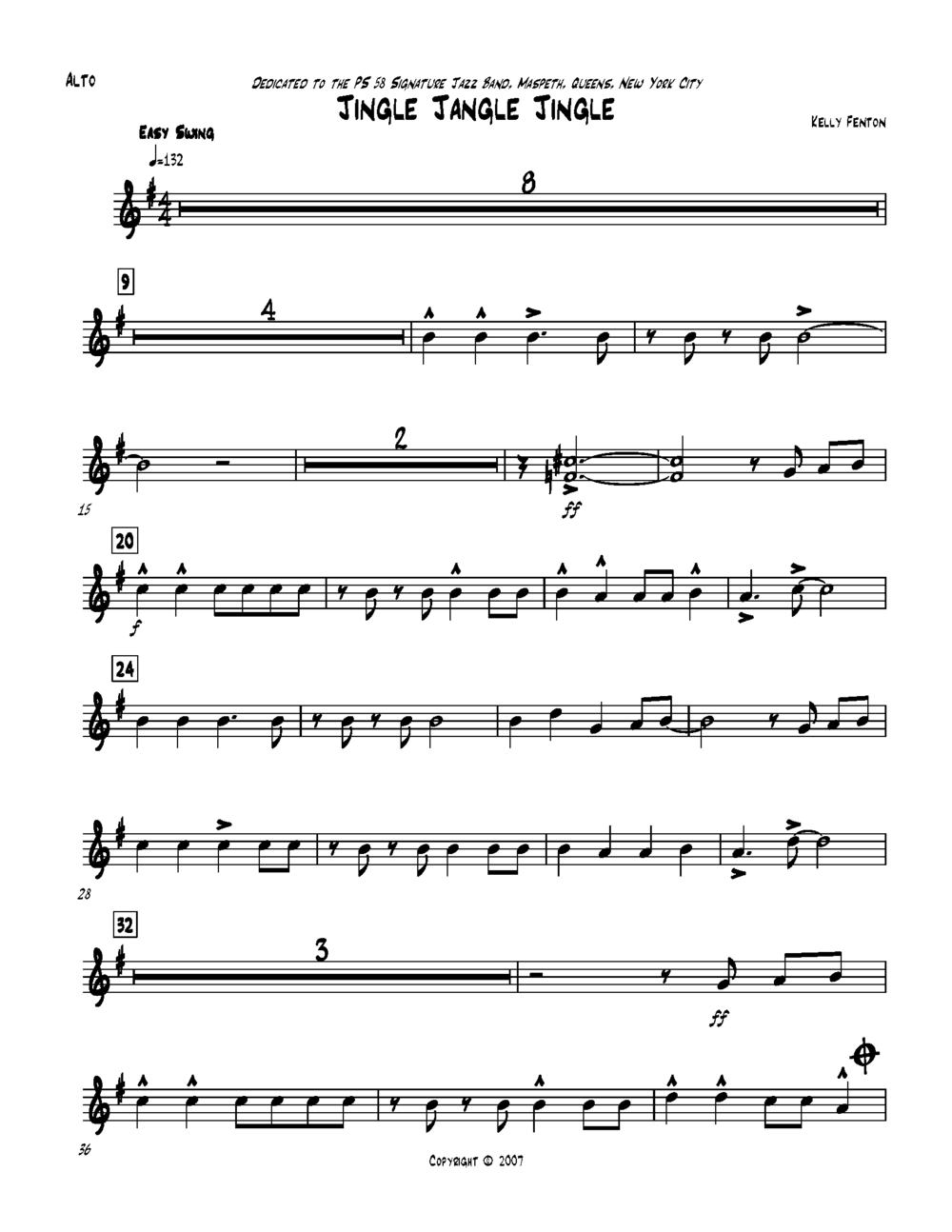 CUSTOM ARRANGEMENT | beginner jazz band
