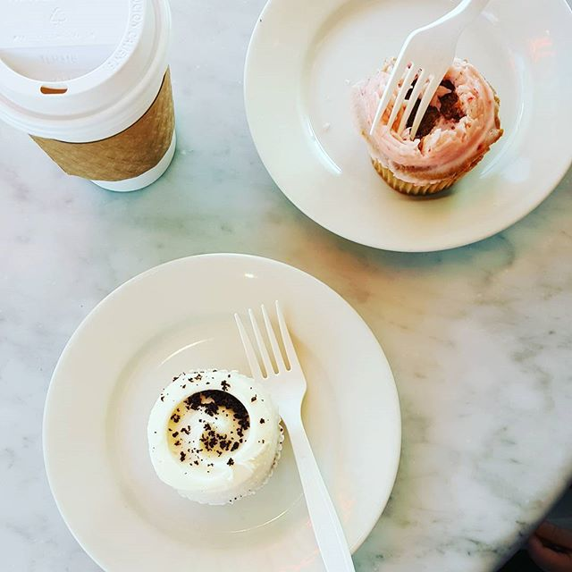 Planning big things, so... cupcakes & coffee!
