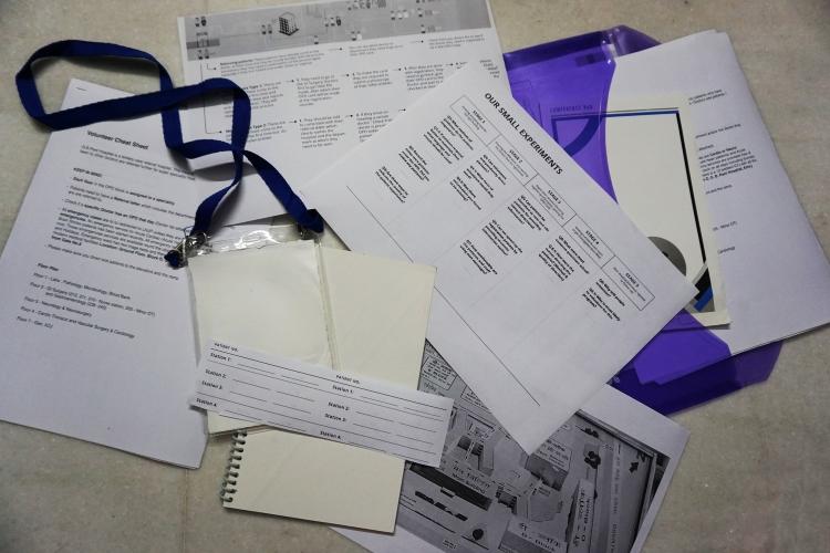 Toolkits designed for volunteers