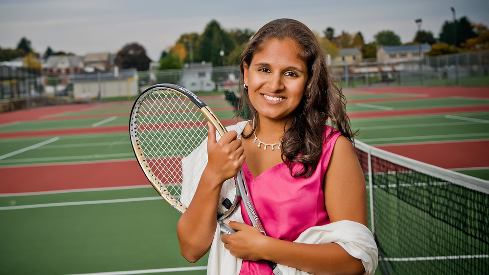 Richland Tennis Senior Pictures by Tony Urban Photography Somerset PA