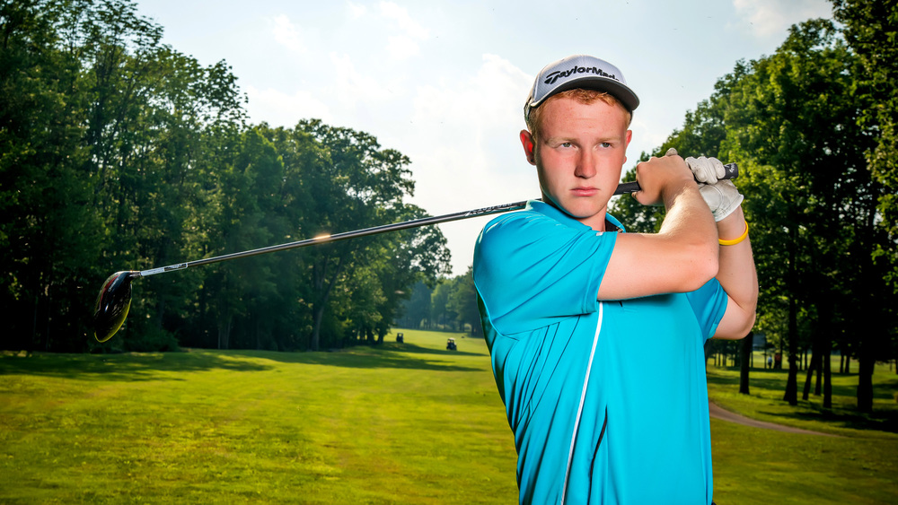 Golf Senior Pictures by Tony Urban Photography, Somerset PA