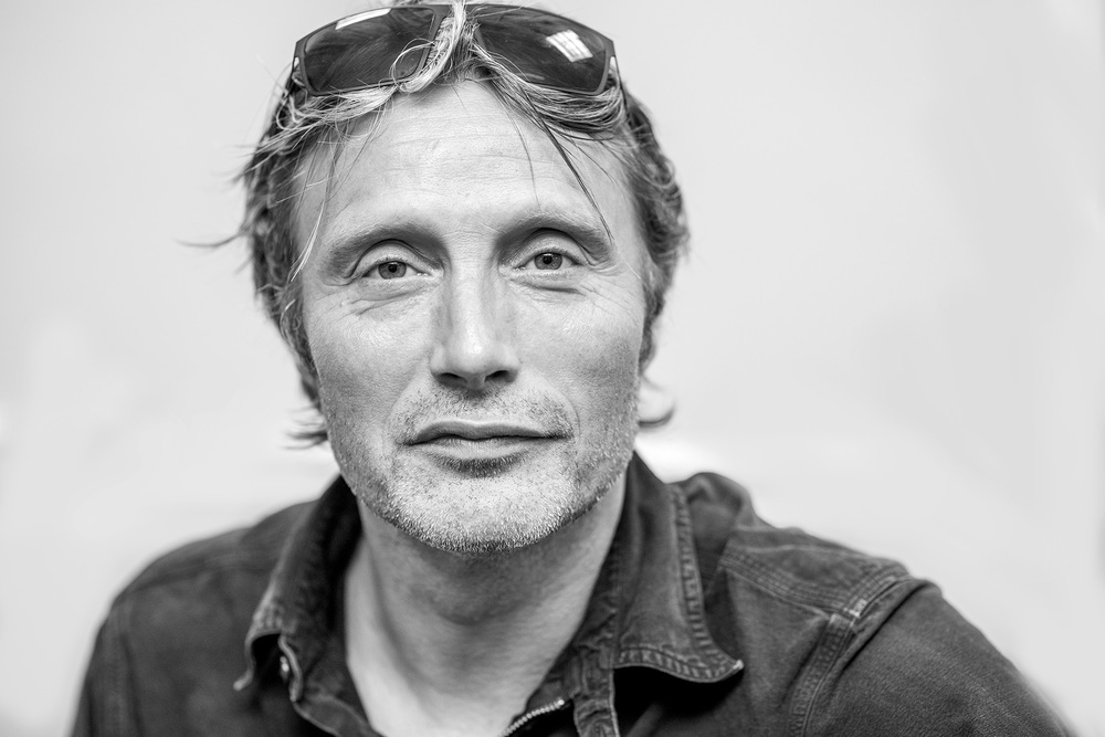 Mads Mikkelsen portrait by Tony Urban