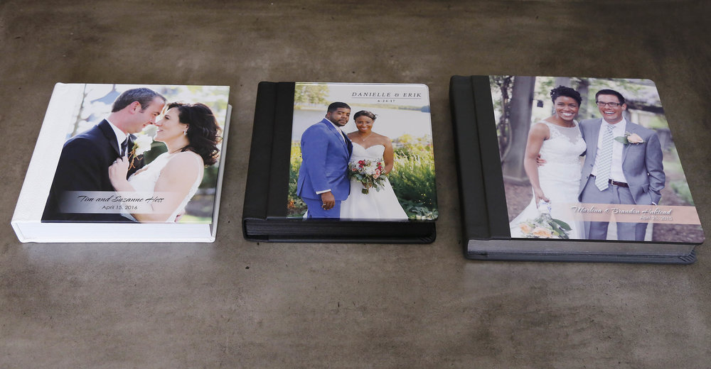 Wedding Albums - Many Choices Available