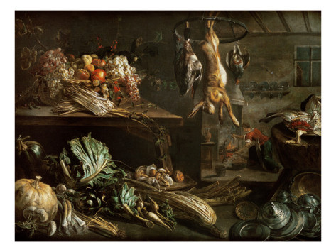 adriaen-van-utrecht-kitchen-interior-with-still-life-maid-by-the-fire