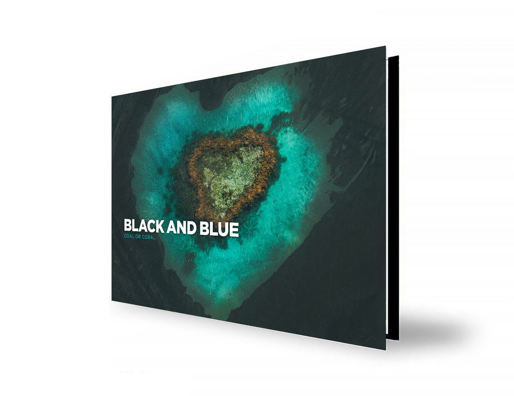 New Limited Edition Book - BLACKANDBLUE is the second in a series of publications by The Light Collective showcasing fine art and conceptual imagery in this high quality limited run book illustrating the modern relationship between Coal and Coral.Unite in this cause to help save the reef!Shipping Date: Dec 2018
