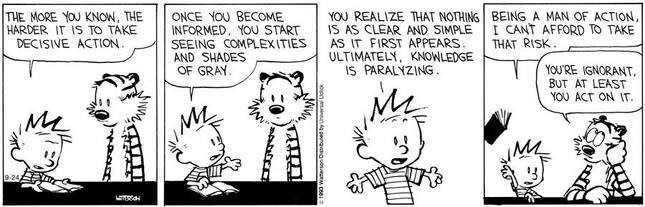 "Source: ""Calvin and Hobbes"" by Bill Waterson"