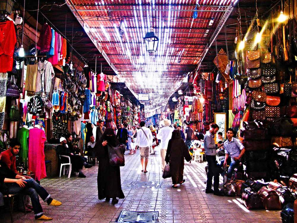 Marrakech-Morocco-Shopping