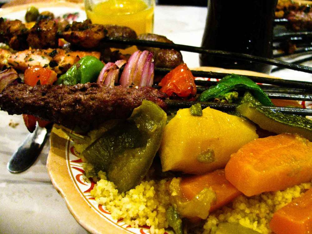 Moroccan-Food-Brochette