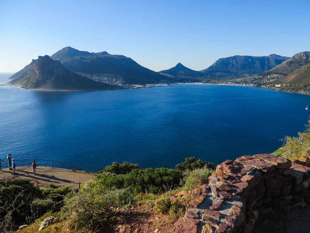 View from Chapman's Peak Drive South Africa