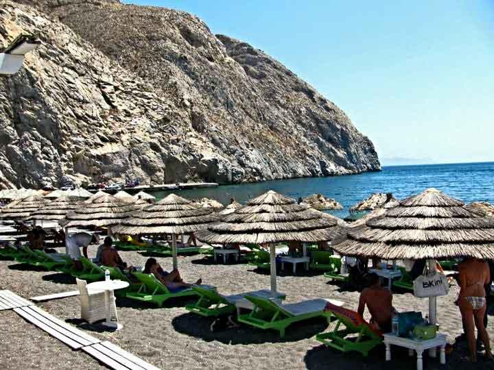 Perissa-Beach-Santorini-Greece