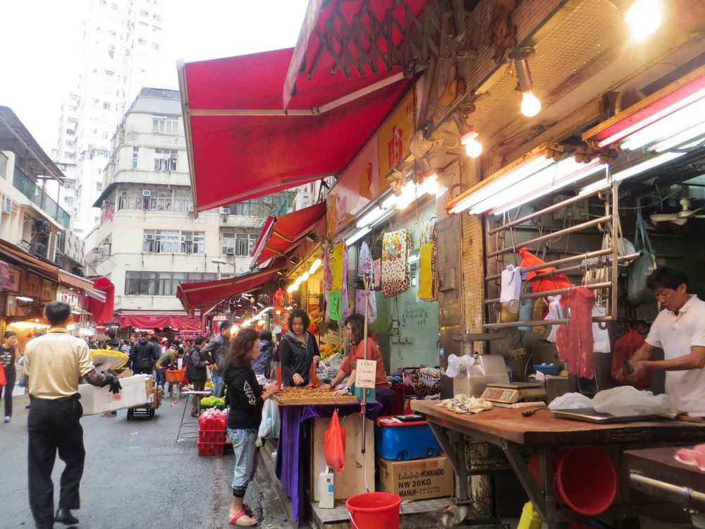 Hong-Kong-Food-Market