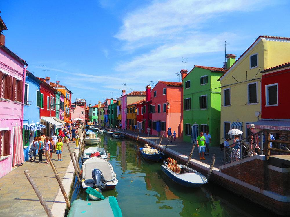 Burano-Italy-Canal
