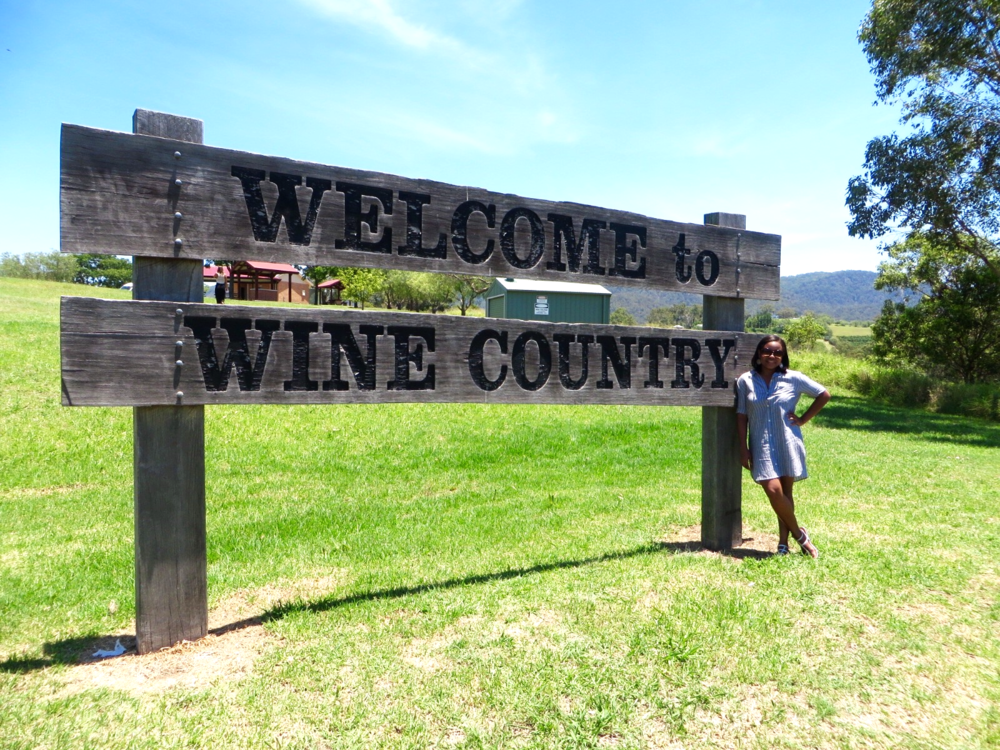 Wine Tasting in Australia's Hunter Valley