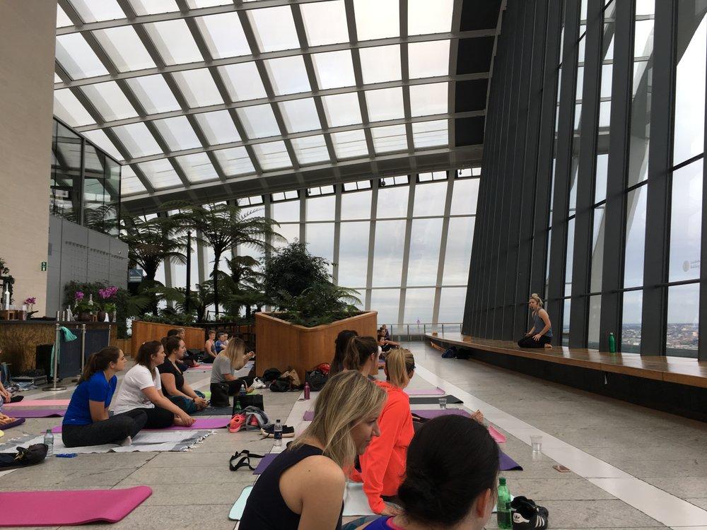Yoga Sky Garden London