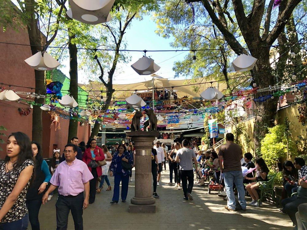 Coyoacan, Mexico