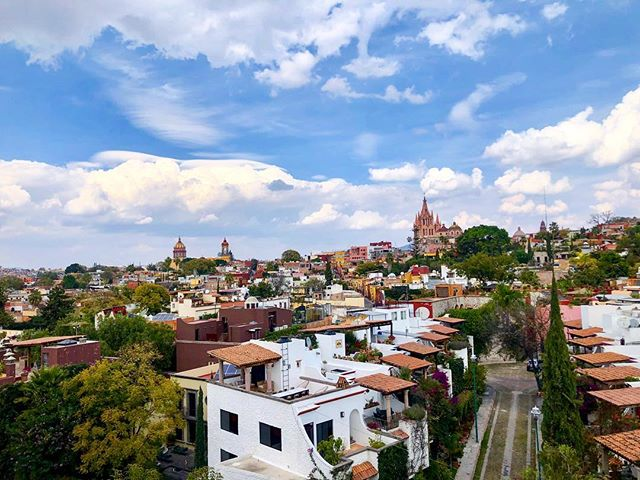 #TBT - one of San Miguel de Allende's many beautiful terrace views 😍