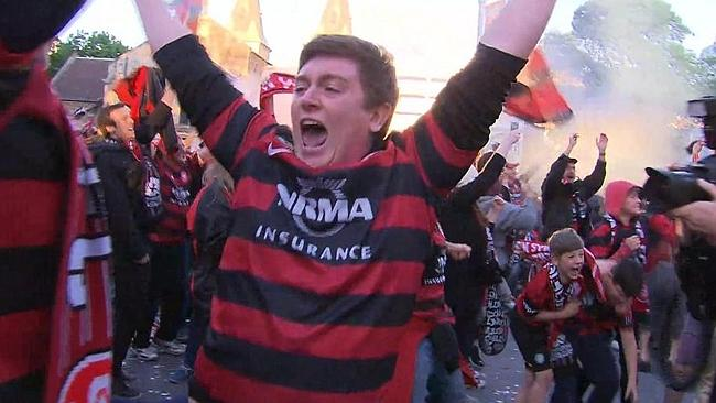 WESTERN SYDNEY WANDERERS: THE ASIAN CHAMPIONS (2015, Australia)